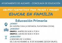 Grupos Formativos para padres y madres ONLINE