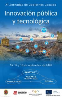 Cartel XI Jornadas Gobiernos Locales 2020