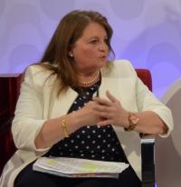 Julia Llopis, en una pasada intervención televisiva
