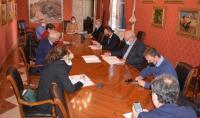 Comisión de Presidencia de hoy, presidida por Antonio Peral