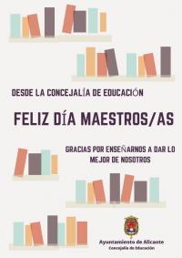 Conmemoración Día del maestro/a