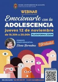 """Conferencia Online """"Emocionarse con la Adolescencia"""""""