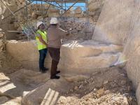 Restauración del Baluarte de la Mina del castillo de Santa Bárbara