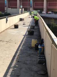 Obras de mantenimiento