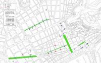 Plano cortes calles