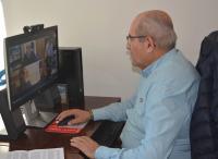 Jose Ramón González en Junta Rectora Extraordinaria telemática del Patronato de la Vivienda