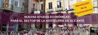 Ayudas al sector de la hostelería