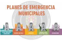 Diseño de imágenes frente distintos riesgos del municipio