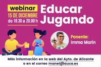 """Conferencia Online """"EDUCAR JUGANDO"""""""
