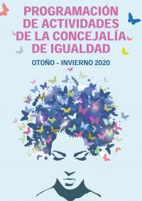 Cartel actividades Concejalía de Igualdad otoño-invierno 2020-21