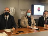 Manuel Villar, Antonio Manresa y Antonio Peral en Rueda de Prensa