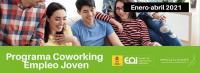 Cartel informativo programa Coworking-Empleo Joven