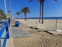 Mejora accesos peatonales playa Postiguet