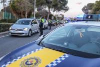 Control policial del cierre perimetral de Alicante