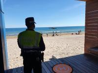 Vigilancia de playas con drones