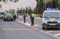 Operativo de la Policía Local para el control del cierre perimetral de Alicante