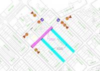 Previsión corte de tráfico en el barrio de San Gabriel