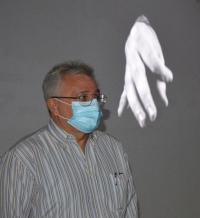El concejal Antonio Manresa, durante un pasado acto en Cigarreras