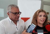 Los concejales de Cultura, Antonio Manresa, y de Turismo, Mari Carmen Sánchez