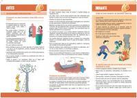 Recomendaciones de actuación frente a incendios forestales