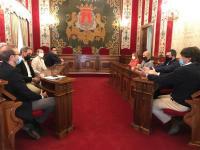 Reunión mantenida con representantes del sector de la hostelería de la Explanada