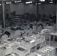 Fábrica de Juguetes Payá. 1959. Fotografía Eugenio Bañón.