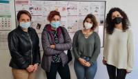 María Conejero visita los proyectos subvencionados en el Plan de Acogida y Cohesión Social