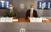 Manuel Villar y Antonio Manresa informan tras la Junta de Gobierno