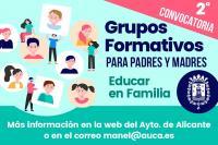 """Grupos Formativos ONLINE """"Educar en Familia"""""""