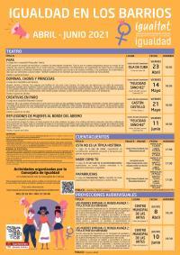 IGUALDAD EN LOS BARRIOS: ABRIL/JUNIO 2021