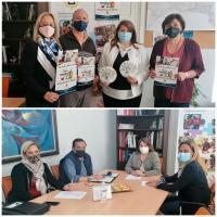 Julia Llopis en reunión con representantes del sector de la Educación Infantil de Alicante