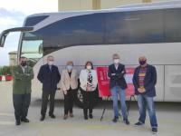Julia Llopis, ha visitado junto a la consellera de Sanidad, Ana Barceló, y el conseller de Obras Públicas, Territorio y Movildad, Arcadi España,...