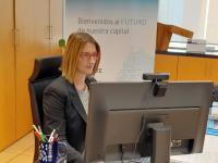 La concejala Mª Carmen de España