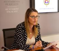 La concejala Mari Carmen de España, que está al frente de la Agencia de Desarrollo Local