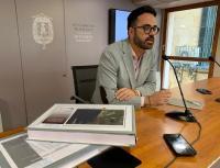 El concejal de Urbanismo, Adrián Santos Pérez