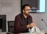Adrián Santos Pérez, concejal de Urbanismo