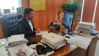Luis Barcala ha asistido, mediante videoconferencia, a la Comisión Extraordinaria no Permanente del Pleno Ciudad-Puerto