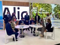 Fitur Alcalde y Vicealcaldesa propuesta Alicante turismo de negocios