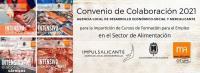 Imagen cursos formativos para el empleo del sector de la alimentación 2021