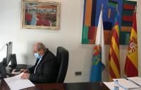 José Ramón González en el Patronato de la Vivienda