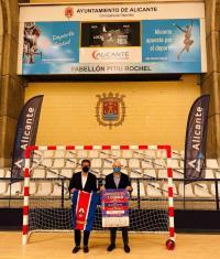 Presentación campeonato balonmano, José Luis Berenguer
