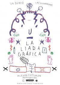 Cartel del festival La Liada