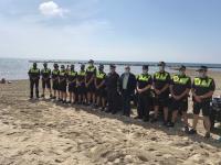 Refuerzo dispositivo policía local Alicante