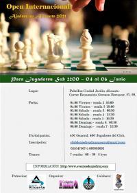 Open Internacional de Ajedrez Sub 2200