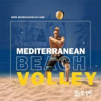 Cartel Voleibol playa