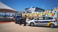 Dispositivo de Policía Local y Nacional Ocean Race Europe