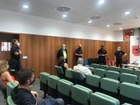 presentación de la campaña de prevención de incendios