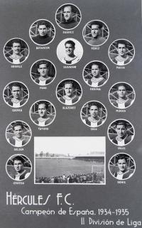Hércules 1934-35. Fotografía Francisco Sánchez