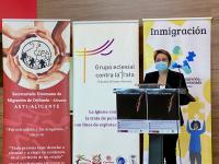 María Conejero en la presentación del programa Día Internacional de las Personas Refugiadas (2)