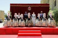 Recepción 82 candidatas infantiles al título de Bellea del Foc 2022